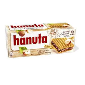 ویفر کرم فندقی هانوتا