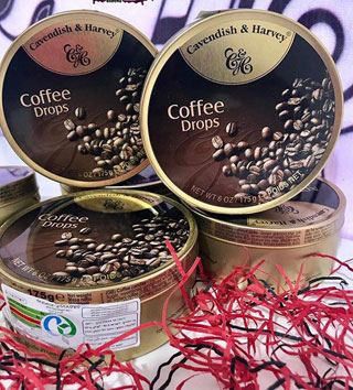 آبنبات کاوندیش با طعم قهوه