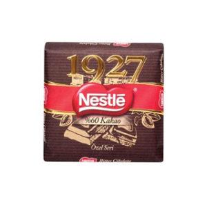 شکلات تلخ نستله شکلات خارجی خانه nestle 1927 60gr
