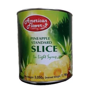 کمپوت آناناس آمریکن فالوورز شکلات خارجی خانه american flowers pineapple